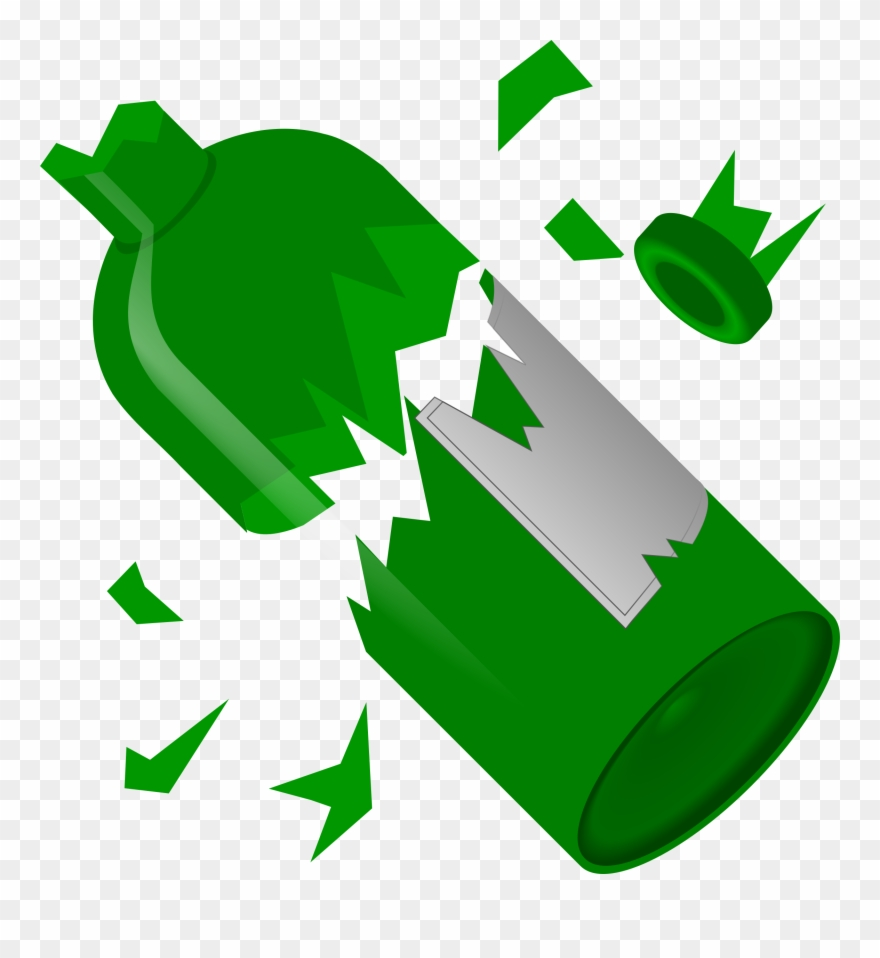 hight resolution of collection of broken glass bottle high breaking a glass clipart png download