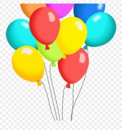 birthday balloons clipart free balloon clip art panda pack of balloons clipart png download [ 880 x 969 Pixel ]