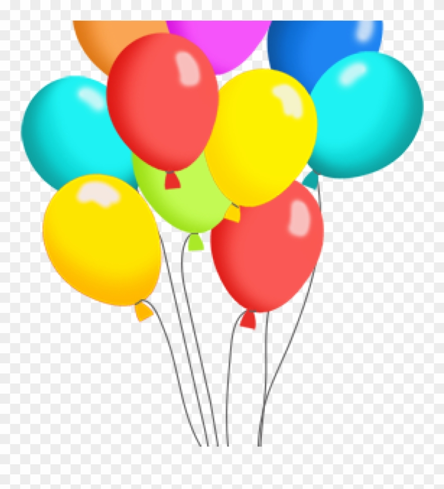hight resolution of birthday balloons clipart free balloon clip art panda pack of balloons clipart png download