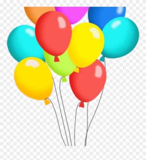 small resolution of birthday balloons clipart free balloon clip art panda pack of balloons clipart png download