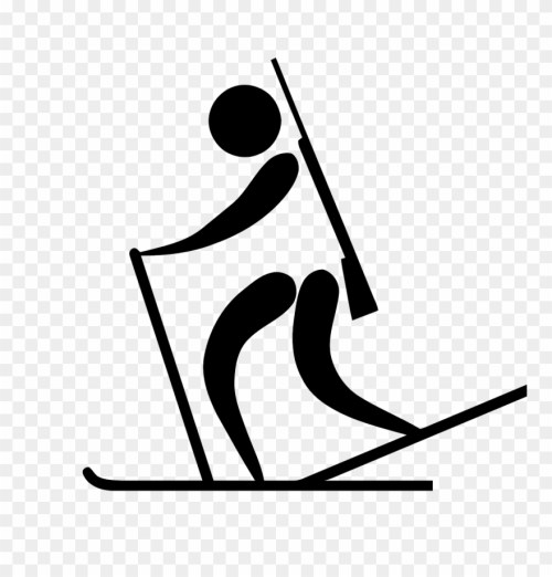 small resolution of olympic sports biathlon pictogram clip art biathlon clip art png download