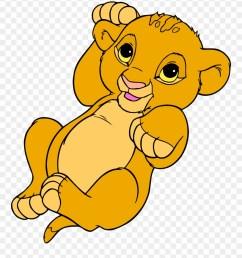 simba nala lion clip art baby simba coloring page png download [ 880 x 1008 Pixel ]