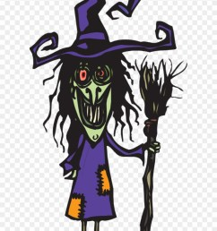 ugly witch with her broom ugly witch clipart png download [ 880 x 1334 Pixel ]