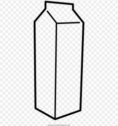 milk carton coloring page clipart [ 880 x 1011 Pixel ]