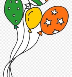 irish party balloons clipart [ 880 x 1627 Pixel ]