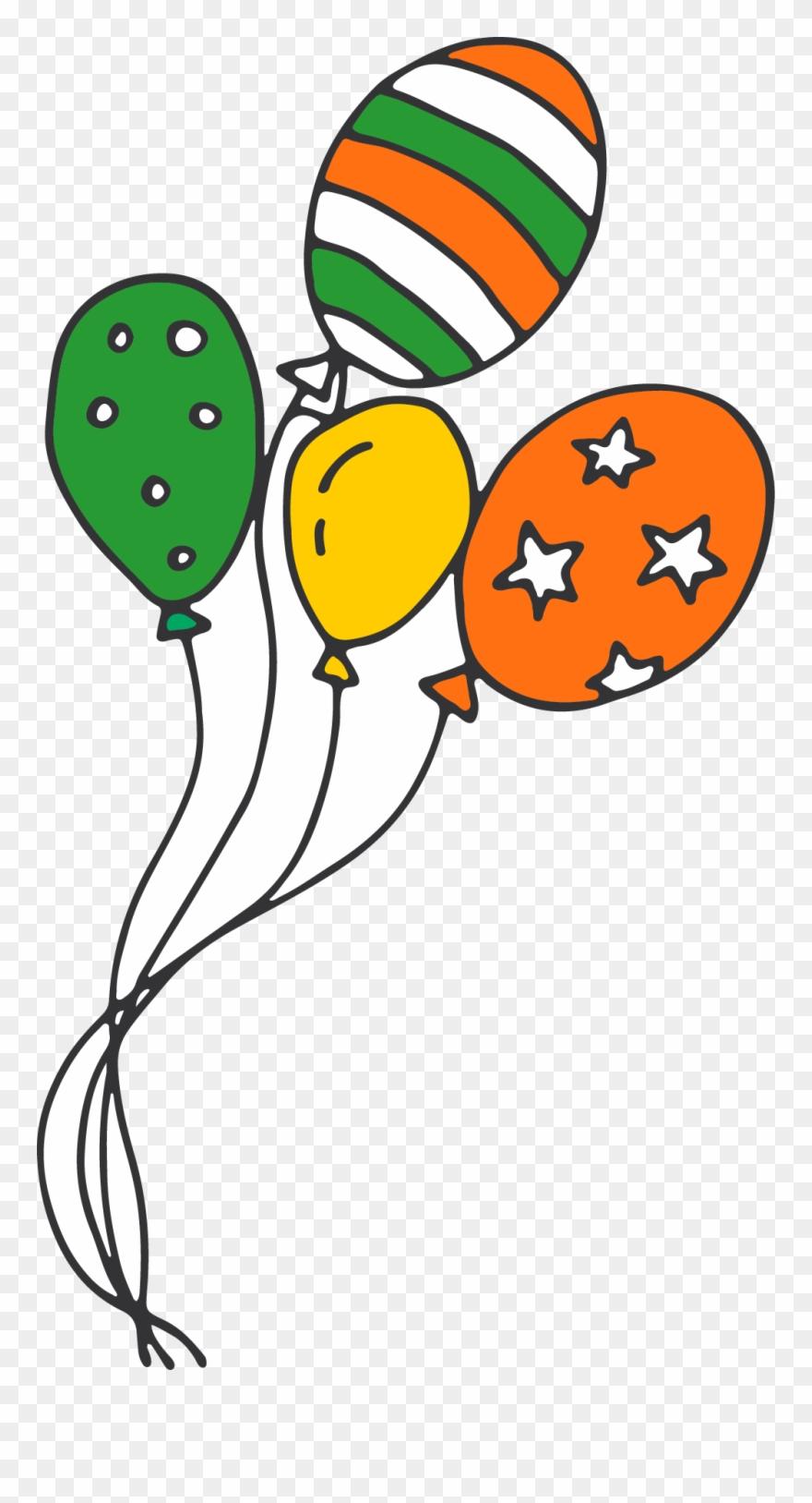 hight resolution of irish party balloons clipart