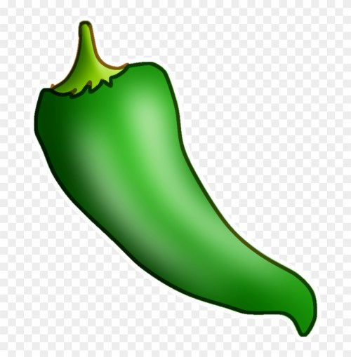small resolution of hot pepper clipart