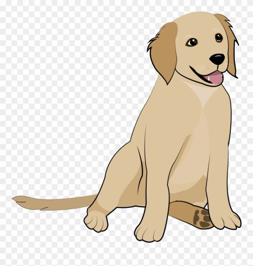 small resolution of 5 golden retriever puppy clipart
