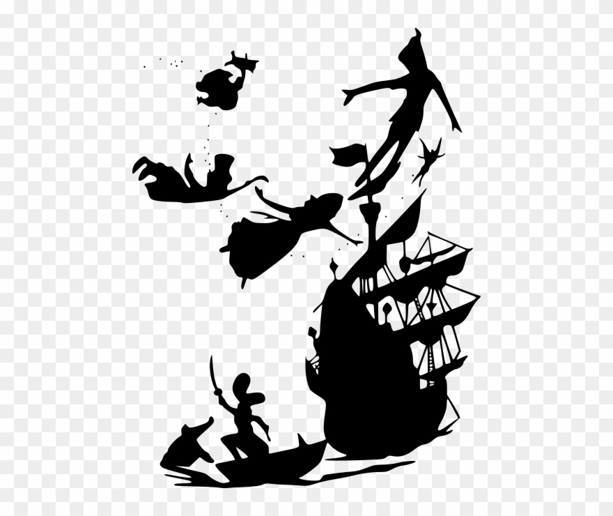 Movies, Personal Use, Peter Pan Boat, Clipart (#3112715
