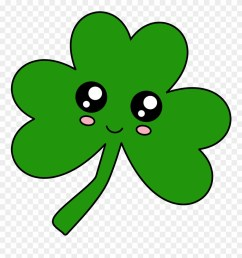 cute saint patrick s daydownload now cute shamrock clipart free download [ 880 x 935 Pixel ]