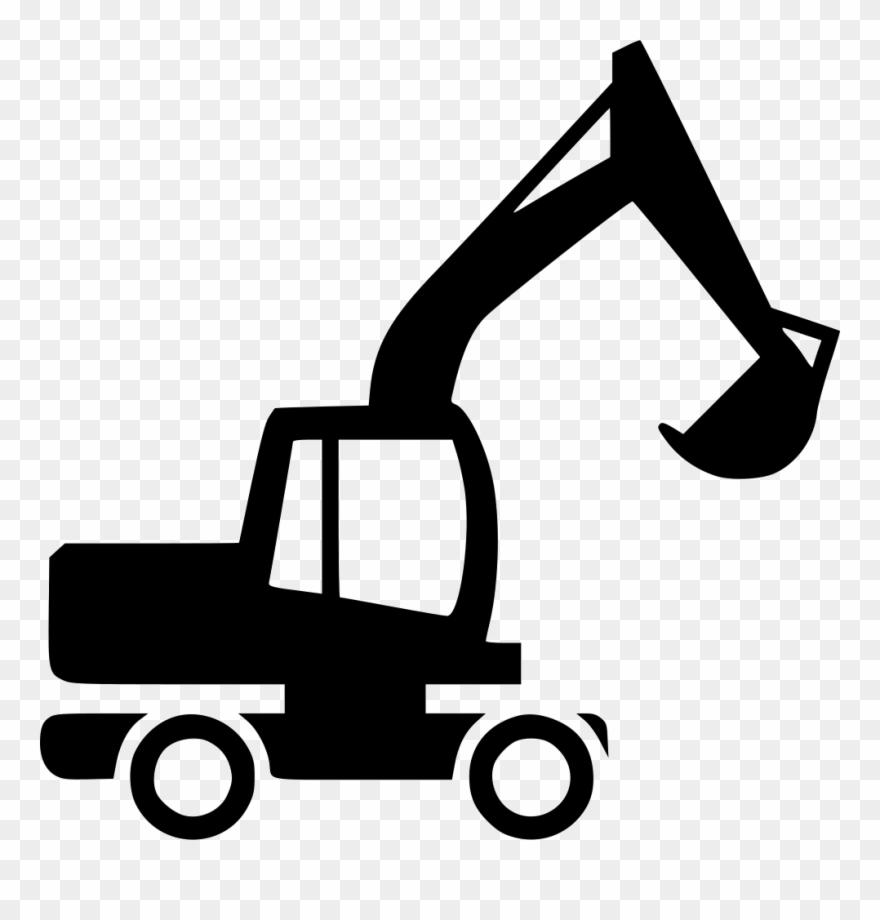 Excavator Icon Free Download Png Excavator Svg Clipart