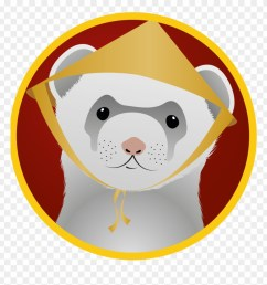 ferret badges 3 vietnamese food ferret vietnamese ferret clipart [ 880 x 924 Pixel ]