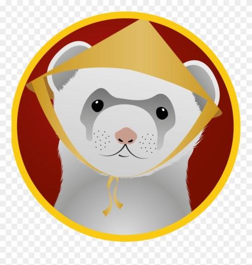 small resolution of ferret badges 3 vietnamese food ferret vietnamese ferret clipart