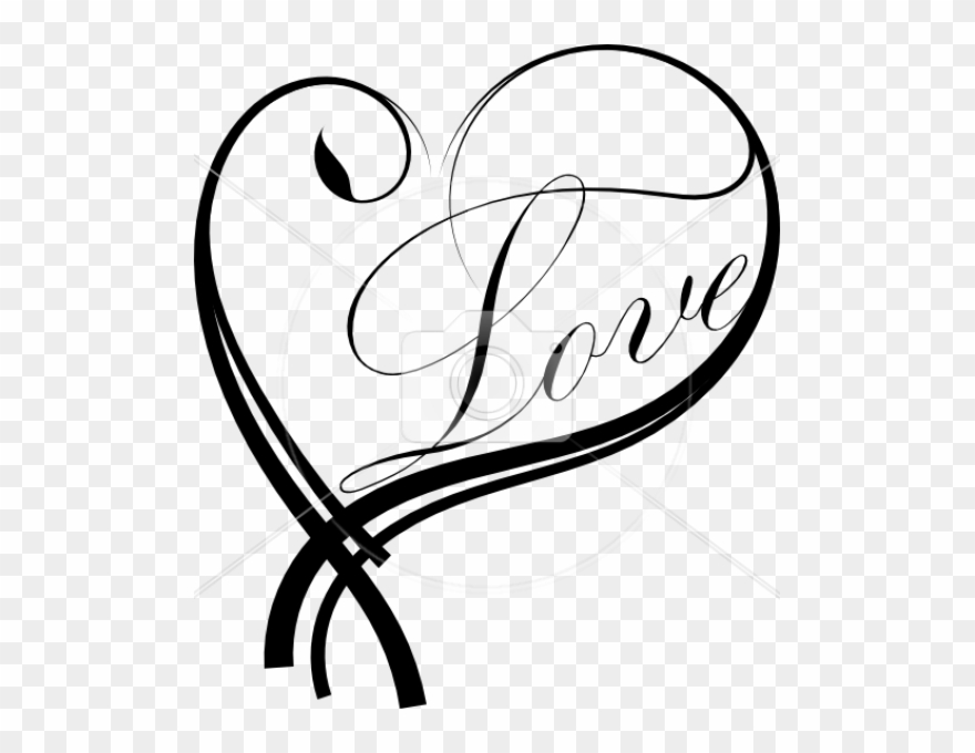 Corazon Tattoo Heart Png Clipart 328079 Pinclipart