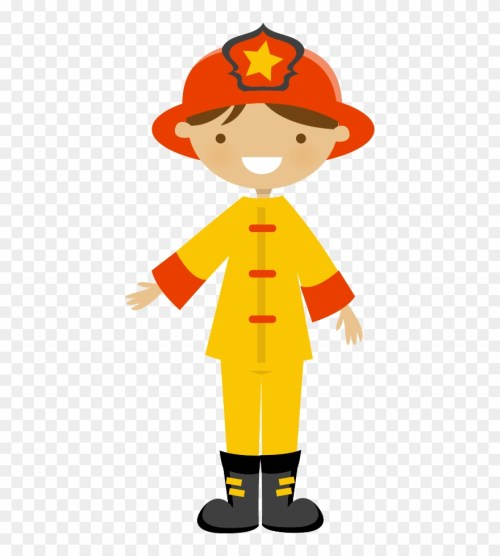 small resolution of community helpers fire fighters say hello cute art firefighter clipart