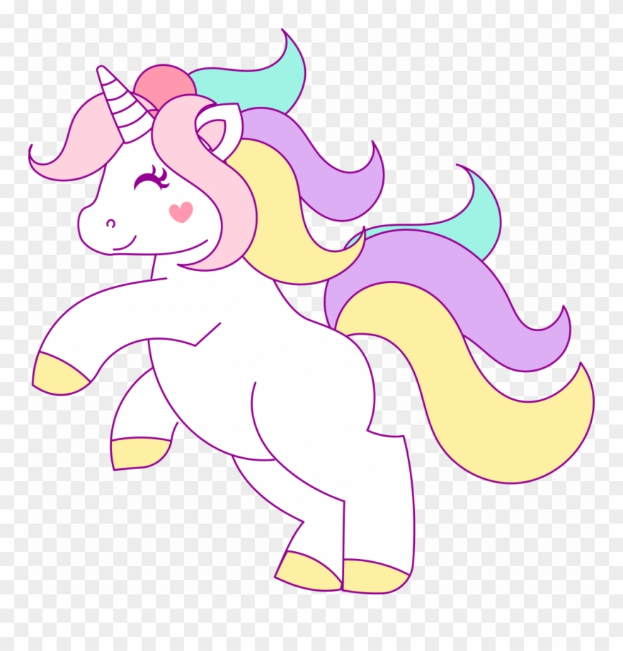 medium resolution of free hand drawn unicorn clip art png download