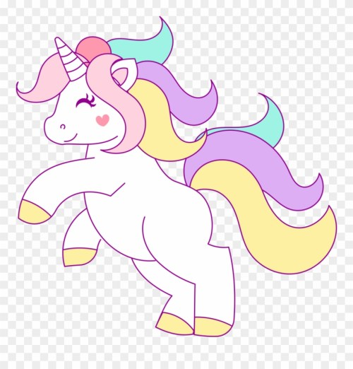 small resolution of free hand drawn unicorn clip art png download