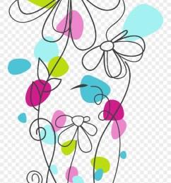 free motion embroidery vector de flores animadas png clipart [ 880 x 1390 Pixel ]