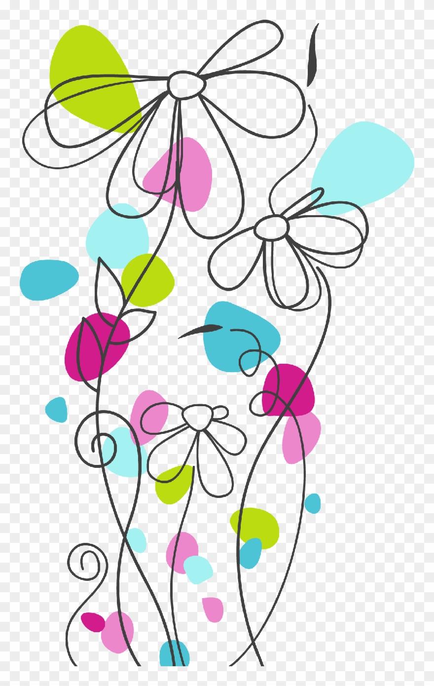 medium resolution of free motion embroidery vector de flores animadas png clipart