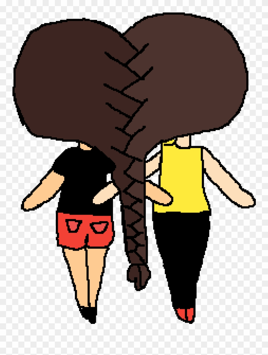 hight resolution of this is me and my friend kennedy she its my bff 2 bffs clipart