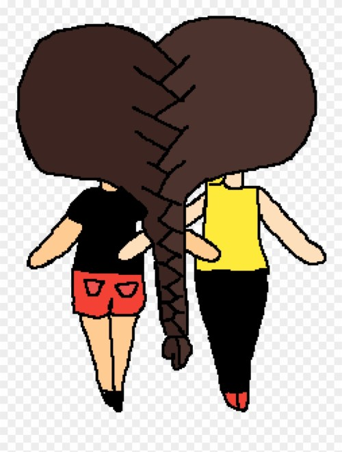 small resolution of this is me and my friend kennedy she its my bff 2 bffs clipart
