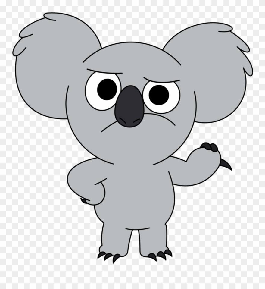 hight resolution of nomnom sticker we bare bears koala png clipart