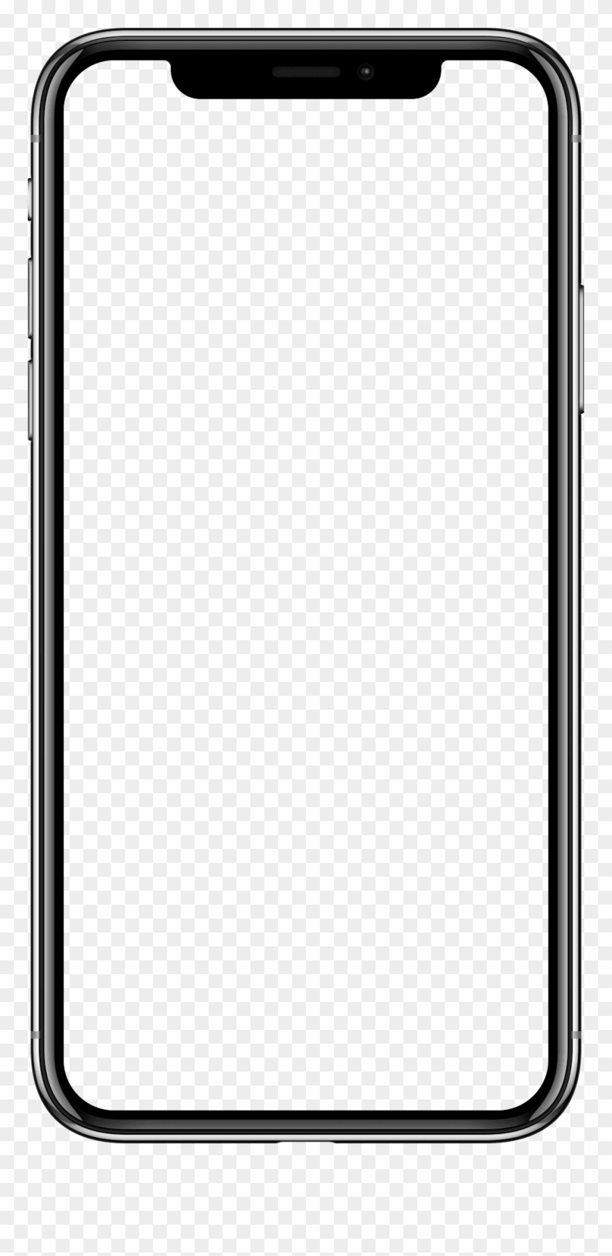 blank iphone png svg