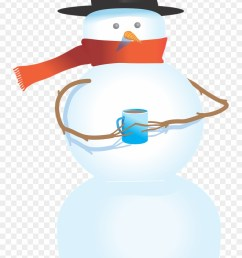 snowman free to use clipart snowman holding a cup png download [ 880 x 1360 Pixel ]