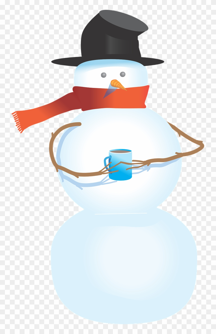 medium resolution of snowman free to use clipart snowman holding a cup png download