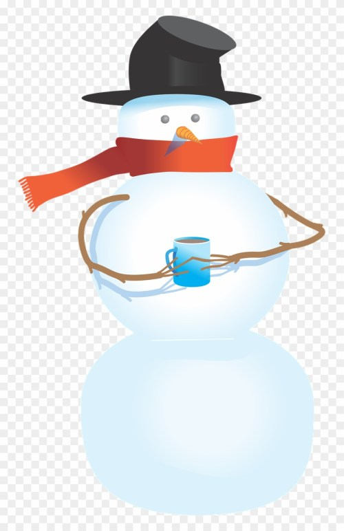 small resolution of snowman free to use clipart snowman holding a cup png download