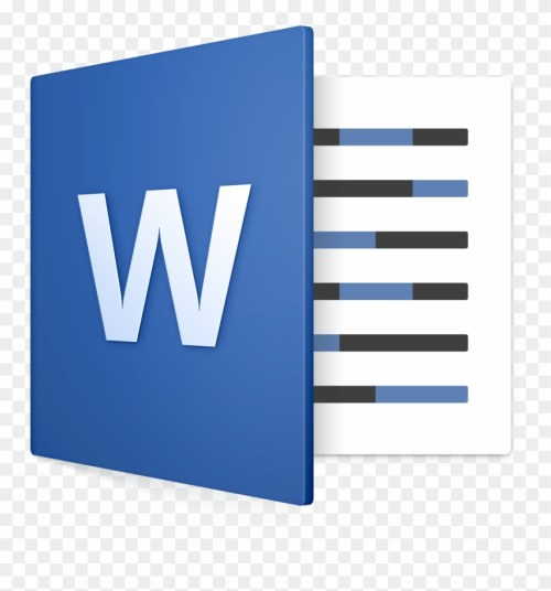 small resolution of word microsoft word mac icon clipart