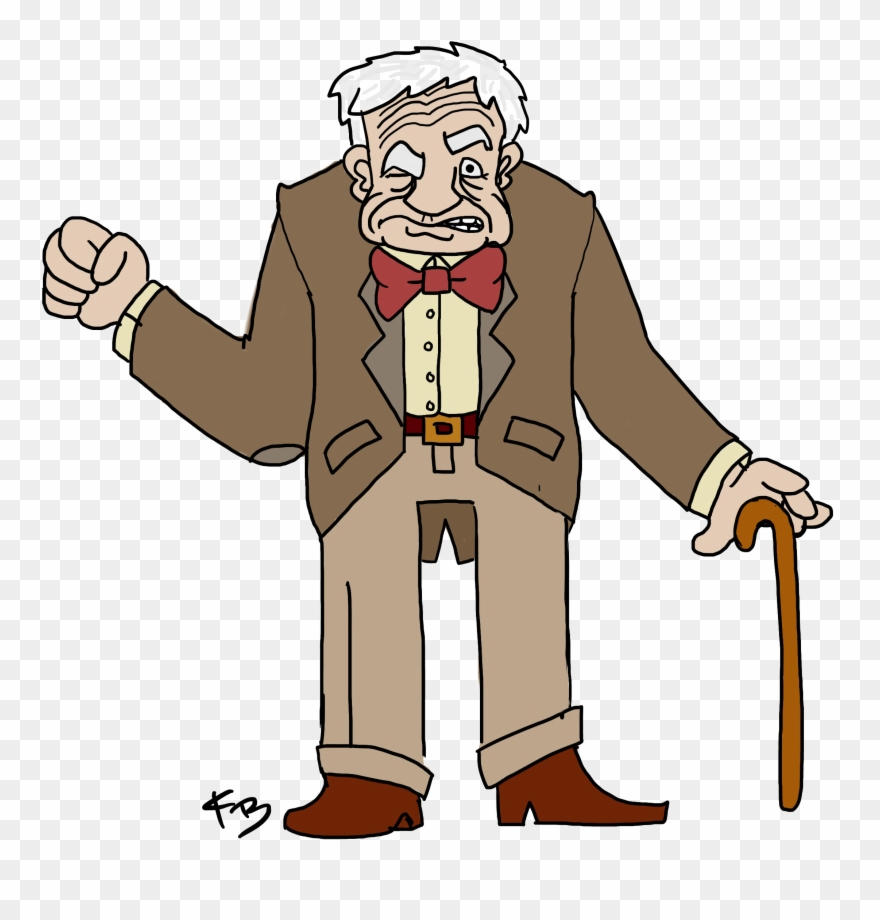 hight resolution of old man transparent cartoon old man png clipart