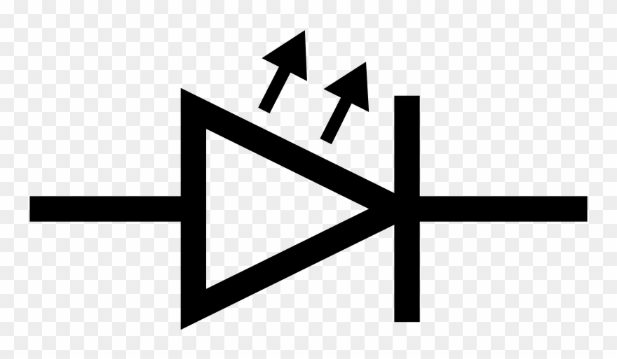 This Graphics Is Iec Led Symbol About Electron, Iec