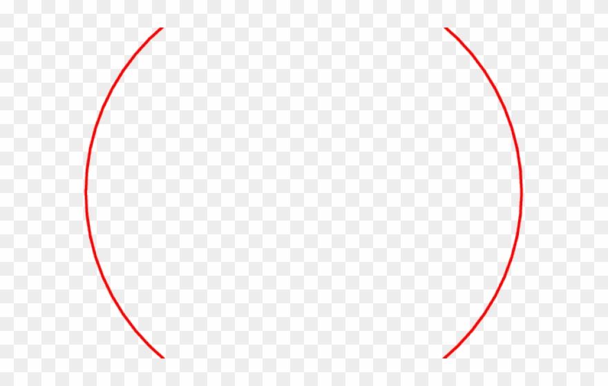 drawn circle png red