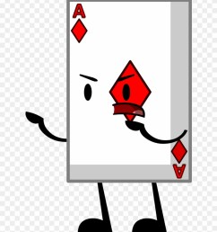 bfdi card png download bfdi playing card clipart [ 880 x 1032 Pixel ]