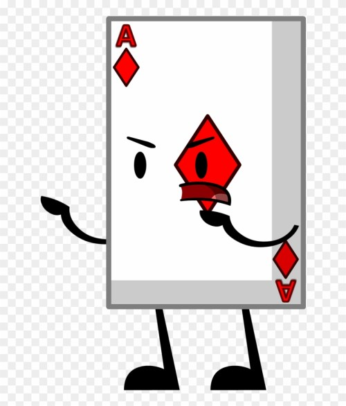 small resolution of bfdi card png download bfdi playing card clipart