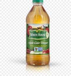white house png apple cider vinegar bottle clipart [ 880 x 1140 Pixel ]