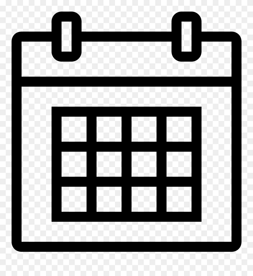 hight resolution of calendar icon white png calendar 11 icon png clipart