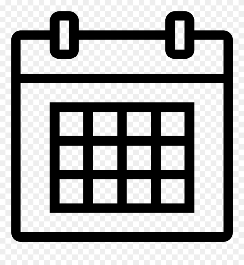 small resolution of calendar icon white png calendar 11 icon png clipart
