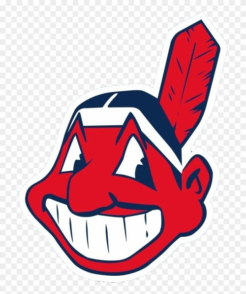small resolution of cleveland indians logo png image chief wahoo clipart