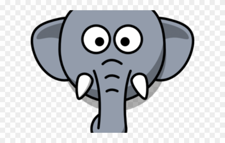 Trunk Clipart Elephant Mask Easy Elephant Face Drawing Png Download 3915840 Pinclipart