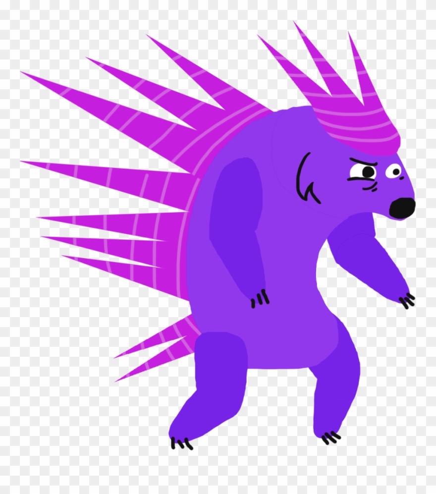 hight resolution of chara porcupine cartoon clipart
