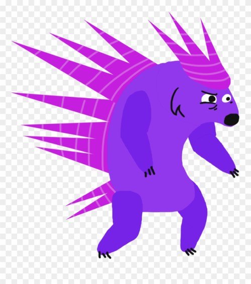 small resolution of chara porcupine cartoon clipart