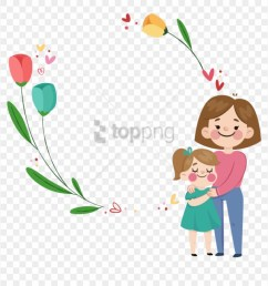 free png download free mothers day happy mother s day png clipart [ 880 x 898 Pixel ]