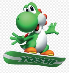 bring back yoshi mario and sonic at the olympic winter games yoshi clipart [ 880 x 968 Pixel ]