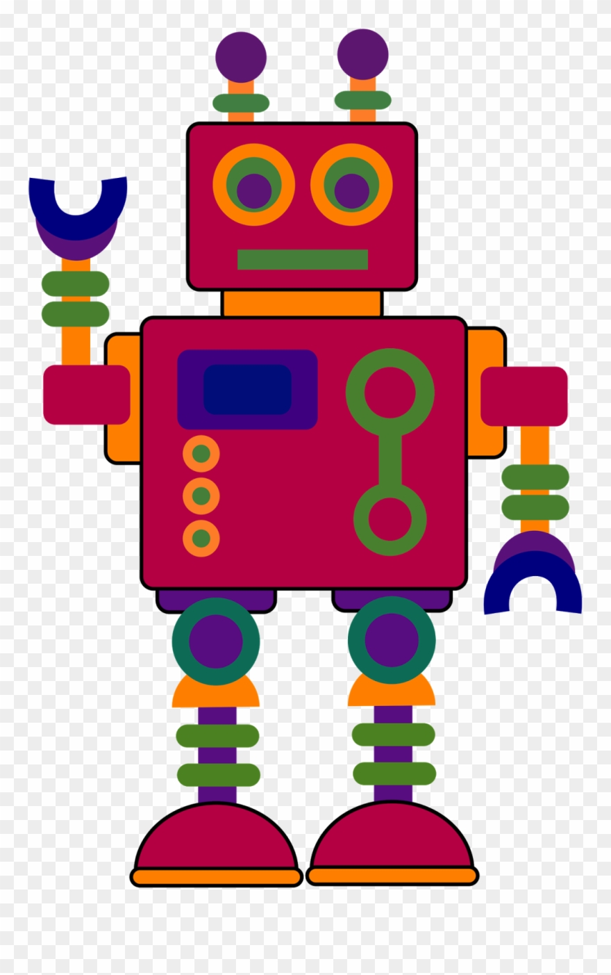 medium resolution of robot clipart library clip art of robots png download