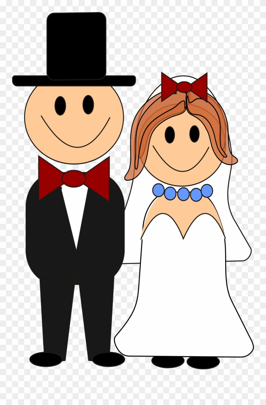 medium resolution of bride and groom graphics free this cute cartoon bride and groom clipart