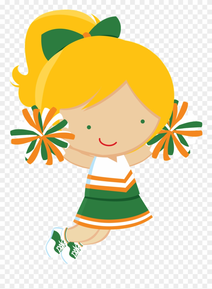 hight resolution of cheerleader clipart cheerleader party cheerleading lider de torcida png transparent png