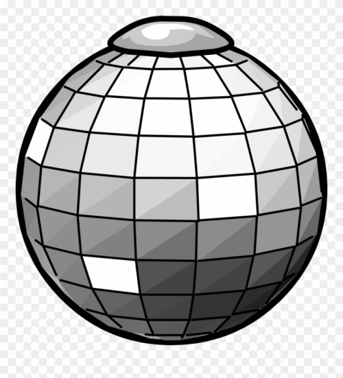 small resolution of disco ball clipart club penguin disco ball png download