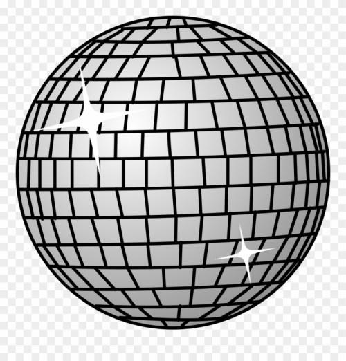 small resolution of disco ball disco ball shower curtain clipart
